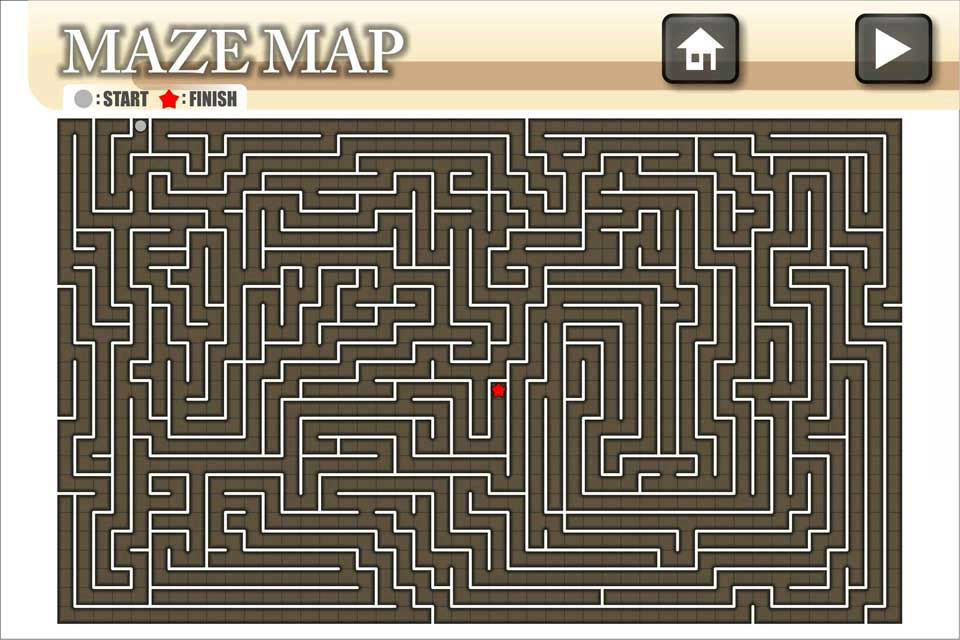 Screenshot A Maze Ing Labyrinth